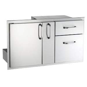 "Fire Magic 36"" Select Door/Drawer Combo w/Platter Storage"