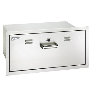 Fire Magic Flush Mount Electric Warming Drawer - 53830-SW