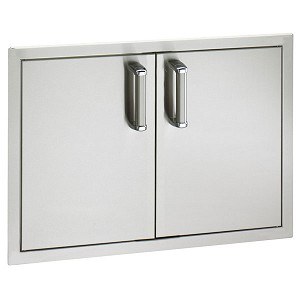 "Fire Magic 30"" Premium Flush Mount Double Access Doors"