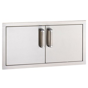 "Fire Magic 30"" Premium Flush Mount Double Access Doors (Reduced Height)"