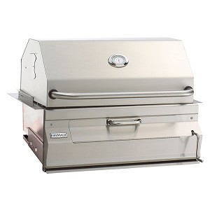 Fire Magic 24-Inch Built-In Charcoal Grill - 12-SC01C-A