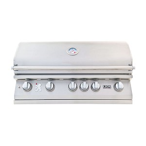 Lion 40-Inch 5-Burner Built-In Grill (L90000)