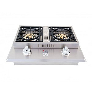 Lion Drop-In Double Side Burner