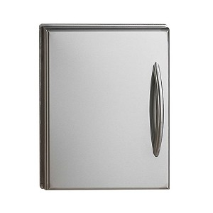 Napoleon Single Flat Stainless Steel Door