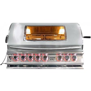 "Cal Flame 39"" Top Gun 5-Burner Convection Grill"